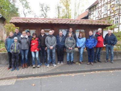 Die Sporthaus-Wandergruppe