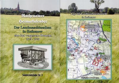 Foto zur Meldung: 2. Sonderausgabe - Rathenower Heimatkalender