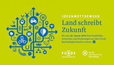 """Vorschaubild zur Meldung: Ideenwettbewerb """"Land schreibt Zukunft"""" – bis 20. Januar 2019 bewerben!"""