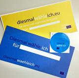"""Vorschaubild zur Meldung: """"Diesmal wähle ich"""" – Europawahl in Deutschland 26. Mai 2019"""