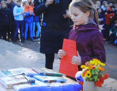 """Foto zur Meldung: Vorlesewettbewerb [Schülerzeitung """"Der Propeller""""]"""