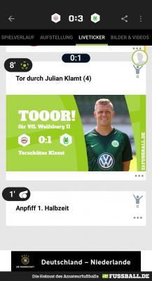 Foto zur Meldung: Der neue FUSSBALL.DE Liveticker 2.0 – informativ & interaktiv