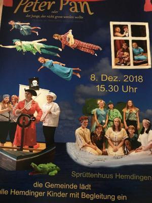 Foto zu Meldung: Weihnachtsmärchen in Hemdingen