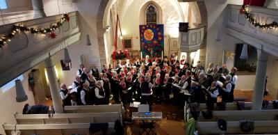 Foto zur Meldung: Adventskonzert in der Mauritiuskirche