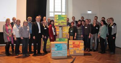 Foto zur Meldung: Quartier 2020 – Gemeinsam.Gestalten. Preisträger treffen sich zum Erfahrungsaustausch