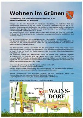 Vorschaubild zur Meldung: Bauland zu verkaufen!