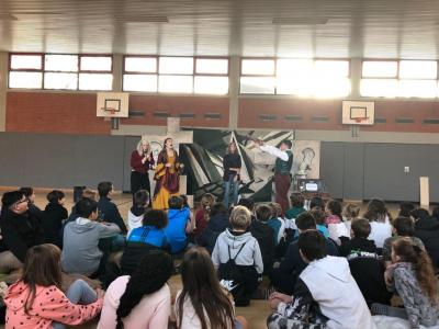 Foto zur Meldung: English Theatre an der AFG
