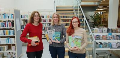 Foto zur Meldung: Unterstützung in der Gemeindebibliothek