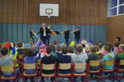 Foto zur Meldung: 3Klang-Konzert mit Rekkenze Brass