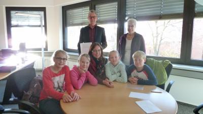 Foto zur Meldung: Sicherer Schulweg - Engagement der Grundschüler aus Bahrdorf