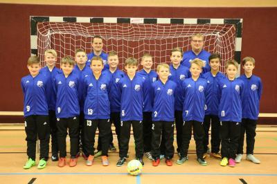 Foto zur Meldung: U12: D2-Jugend - Staffel 2 - Hinrunde - Hallen-Kreisturnier