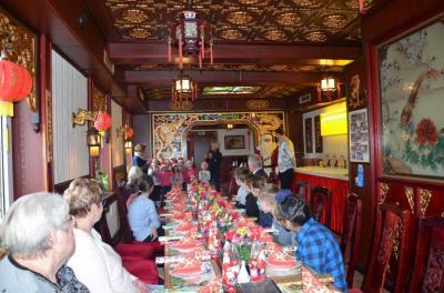 Vorschaubild zur Meldung: Weihnachtliches Essen im China-Restaurant Doan Phan