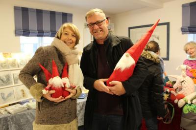 Foto zur Meldung: Weihnachtswichtel und Quarkbällchen