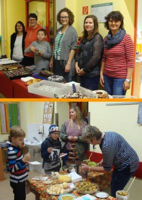 Foto zur Meldung: Adventsnachmittag an der Grundschule Rehfelde