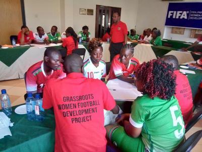 Vorschaubild zur Meldung: FIFA adelt SOLWODI-Fußballprojekt SOLASA in Kenia