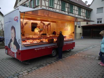 Verkaufswagen Metzgerei Häfele