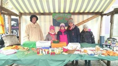 Foto zur Meldung: Dorfweihnacht mit Kreaktiver Grundschule