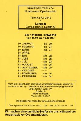Foto zur Meldung: Die Spieliothek-mobil e.V. kommt nach Langeln.