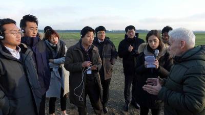 """Foto zu Meldung: Koreaner auf """"Rehfelder Weg der Energiewende"""""""