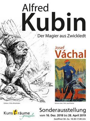Kubin & Váchal als neue Sonderausstellung in der Eisensteiner Kunstgalerie