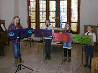 Foto zur Meldung: Schüler von Bianka und Volker Schubert spielen für Baukasse