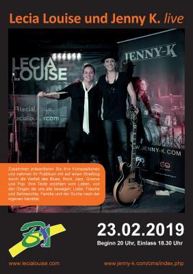 """Vorschaubild zur Meldung: Konzert der Superklasser """"Lecia Louise & Jenny K."""""""