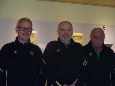 Foto zur Meldung: 1.Luftgewehr-Auflage-Mannschaft wird Meister der Bezirksliga