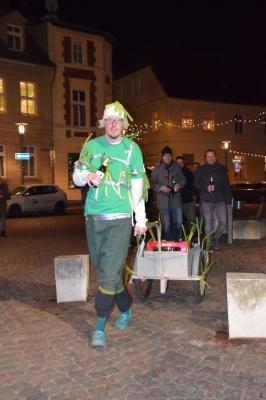 Foto zur Meldung: 30. Geburtstag Kamerad Mattis Rusch, FF Perleberg
