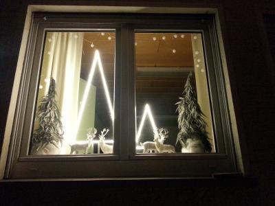 Vorschaubild zur Meldung: 1. Adventsfenster im Rathaus