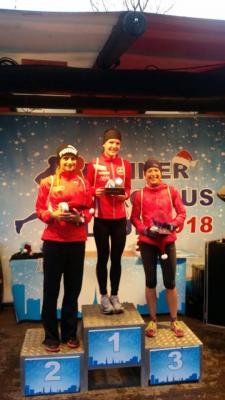 Foto zur Meldung: Marlen Günther holt sich zweiten Platz beim Bonner Nikolauslauf