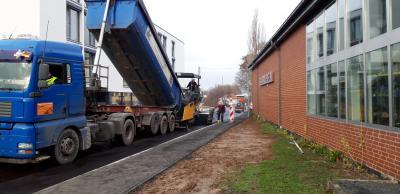 """Vorschaubild zur Meldung: Endausbau der Straße """"Am Bahnhof"""" – Kernstadt"""
