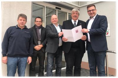Vorschaubild zur Meldung: Zusammenarbeit wird belohnt - Immenhausen und Espenau profitieren von Interkommunaler Zusammenarbeit