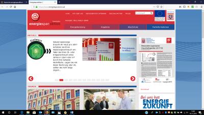 Foto zur Meldung: HESA-Homepage informiert über Energiesparmöglichkeiten