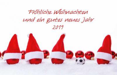 Vorschaubild zur Meldung: Germania - Fröhliche Weihnachten und ein gutes neues Jahr 2019