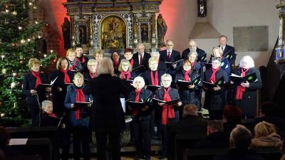 Foto zur Meldung: Premiere in der St. Annen-Kirche