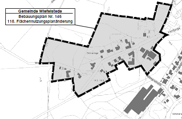 Austellung BPlan Nr. 146 und 118. Änderung des Flächennutzungsplanes