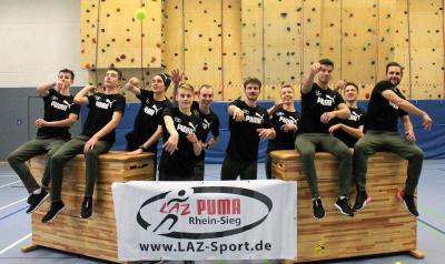 Foto zur Meldung: LAZ Puma Rhein-Sieg mit prominenter Unterstützung zum zweiten Mal dabei