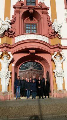 Foto zur Meldung: Schwälmer zu Besuch im thüringischen Landtag
