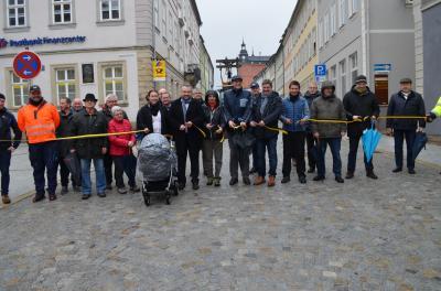 Vorschaubild zur Meldung: Baumaßnahme Ausbau Obere Marktstraße mit Teilbereich I.-Kant Platz
