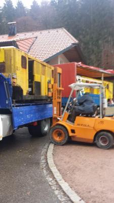 Foto zur Meldung: Bergmannsverein erhält Bergbaumaterial aus Kamp-Lintfort