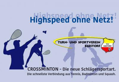Vorschaubild zur Meldung: Crossminton - das schnelle Badminton