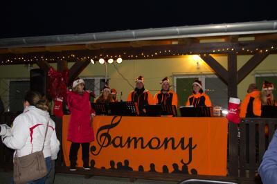 Foto zu Meldung: Beste Weihnachtsstimmung auf dem Sportplatz