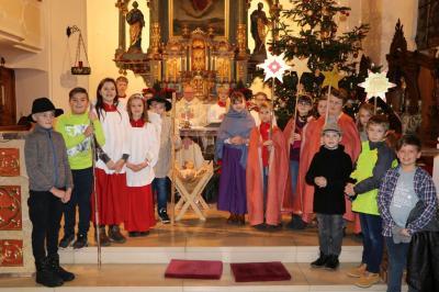 Foto zur Meldung: Weihnachten 2018 in unserer Pfarrgemeinde Blaibach