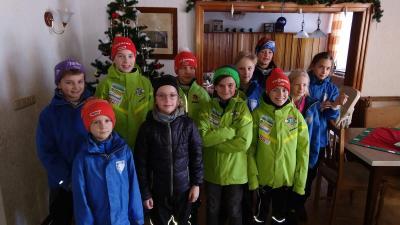 Foto zur Meldung: Skisprung-Camp in Johanngeorgenstadt