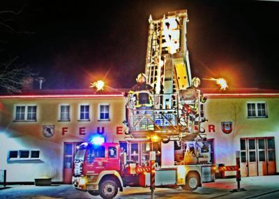 Foto zur Meldung: Neujahrsgrüße der Feuerwehr Calau