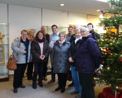 Foto zur Meldung: Spenden-Aktionen bringen rund 3.000 Euro für neue Bäume ein