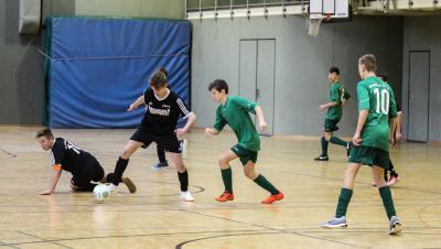 Foto zur Meldung: Hallenfußball in der Demminer Beermann-Arena