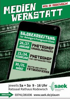 Vorschaubild zur Meldung: Medienwerkstatt in Rodewisch