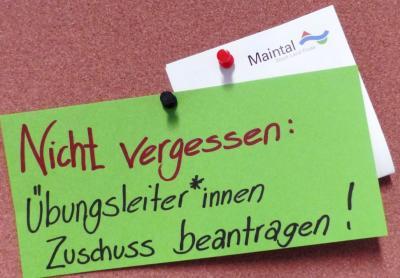 Vereinsbetreuung der Stadt Maintal erinnert an wichtigen Abgabetermin für die Übungsleiter-Pauschale. (Symbolbild)