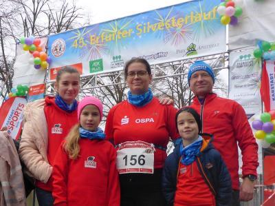 Foto zur Meldung: Erfurter Silvesterlauf
